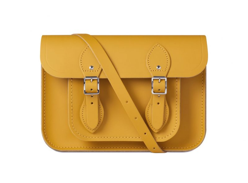cambridge satchel yellow