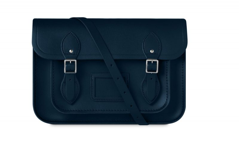 cambridge satchel navy blue