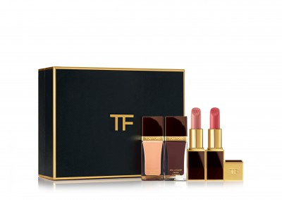 TOM FORD 4 piece Lip & Nail set (Nudes)