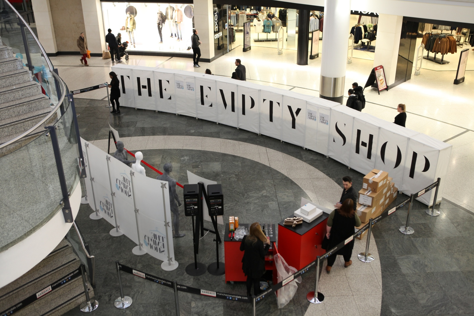 The Empty Shop 2016 at Manchester Arndale