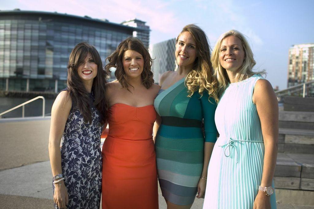L-R Holly Moore, Amanda Barlow. Hayley Harthern & Melanie Sheehy