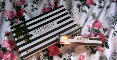 Illuminate by Ashley Tisdale lip gloss and eye shadow palette review