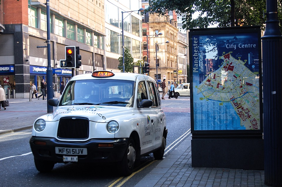 manchester black cab taxi apps