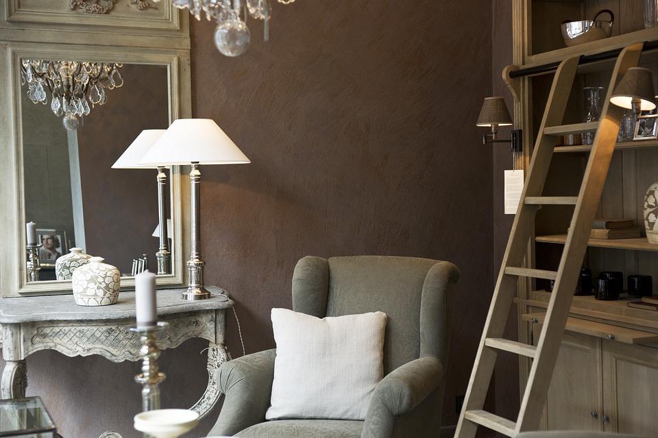 neutral living sitting room decor