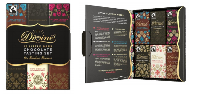 divine chocolate tasting set competition win prize uk comps
