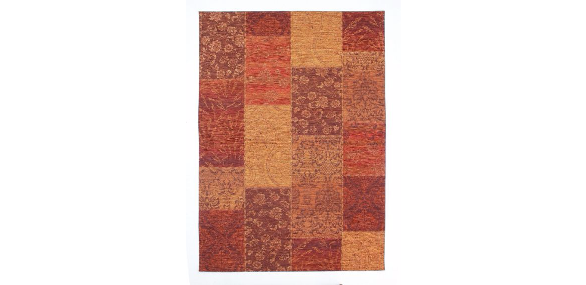 Flair Rugs Chenille Terracotta Rug Range - House of Fraser From £71.40