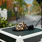 Trend Report: The Best Heeled Mules for SS17 dune leopard print