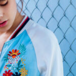 Embroidery trend 2016 - embroidered bomber jacker glamorous