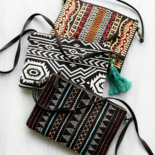 La Redoute Embroidered Clutch Bags - £19 each