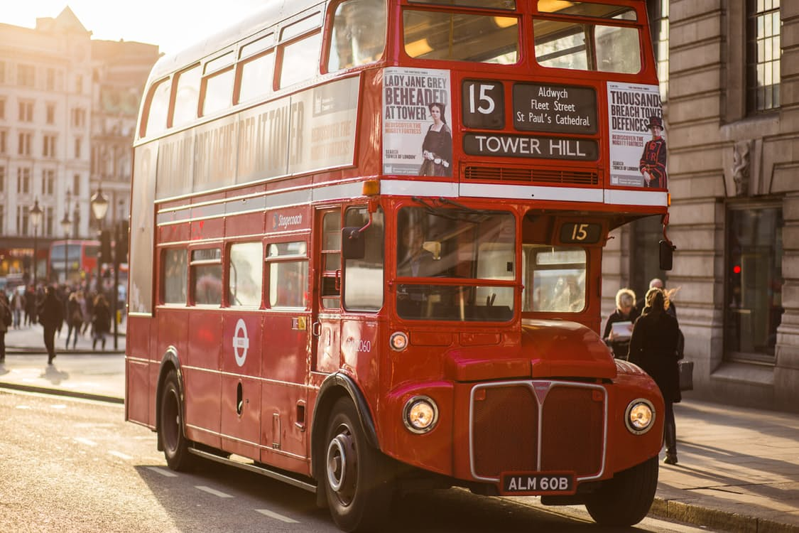 london red bus travel review