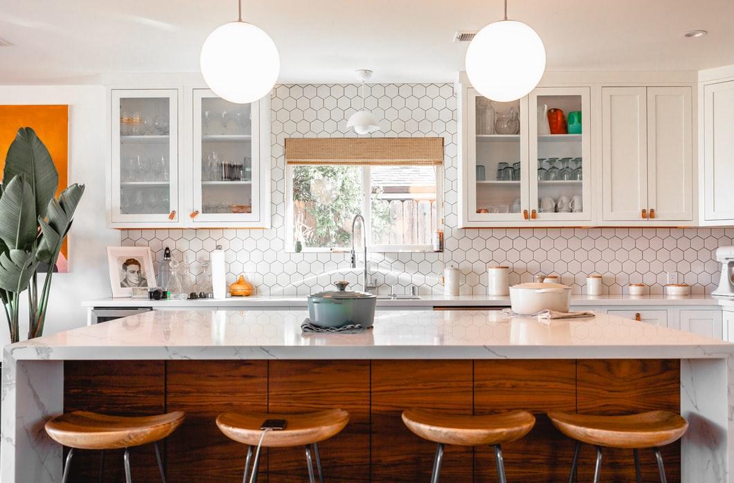 kitchen modern retro