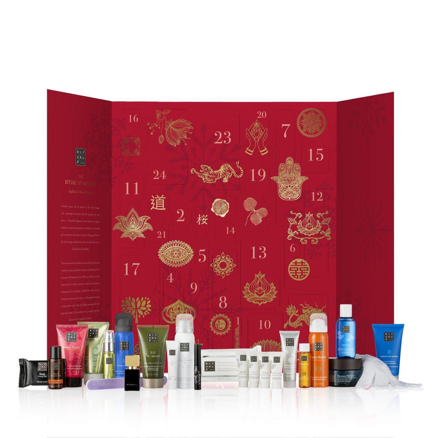 rituals advent calendar little luxuries beauty skincare cosmetics
