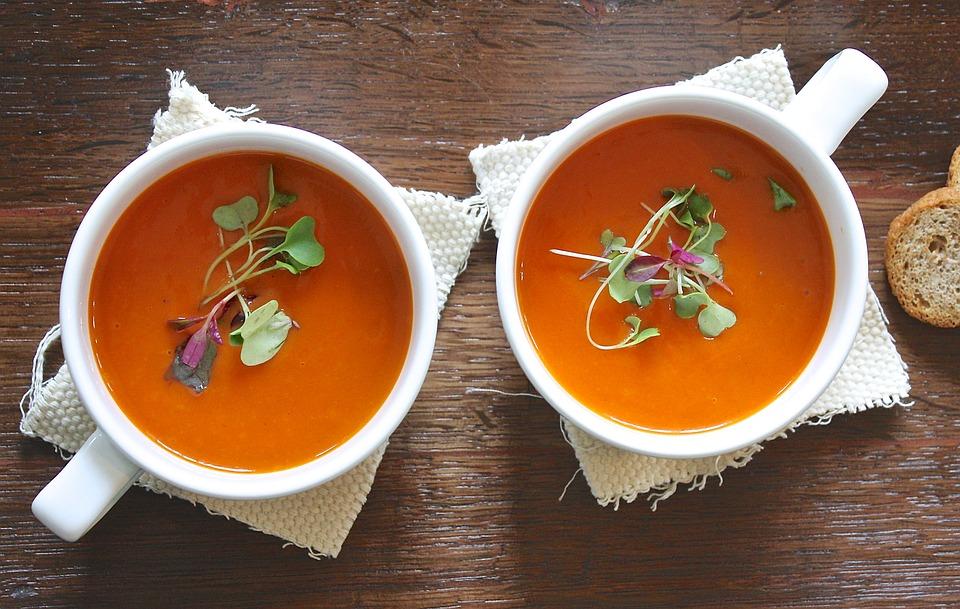 Things I learnt going Vegetarian, veggie soup