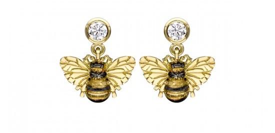 DIAMOND BEE DROP EARRINGS – Peter Jackson The Jeweller