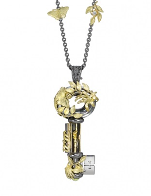 RAINFOREST OPENING KEY PENDANT – Theo Fennell store