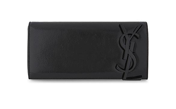 YSL black clutch bag