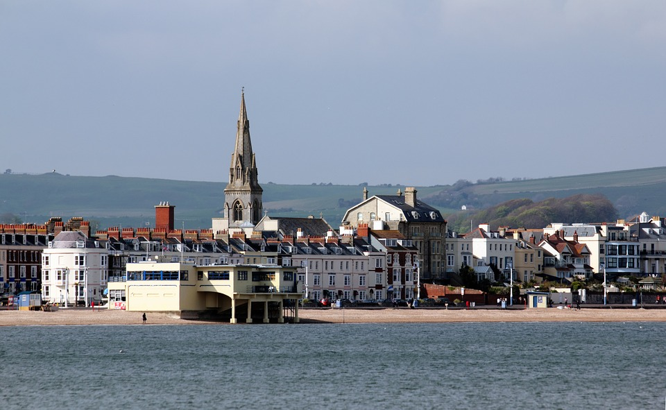 weymouth beach holiday